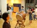 2017年太鼓と踊りの合せ練習