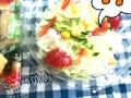 今日のお昼ご飯は、スーパーで買ったお寿司🍣と名前野菜サラダ🥗です(^^)
